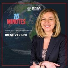 15 MINUTES A CURA DI IRENE ZERBINI